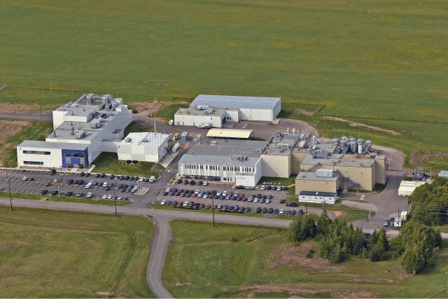 Aerial of BIOVECTRA facilities